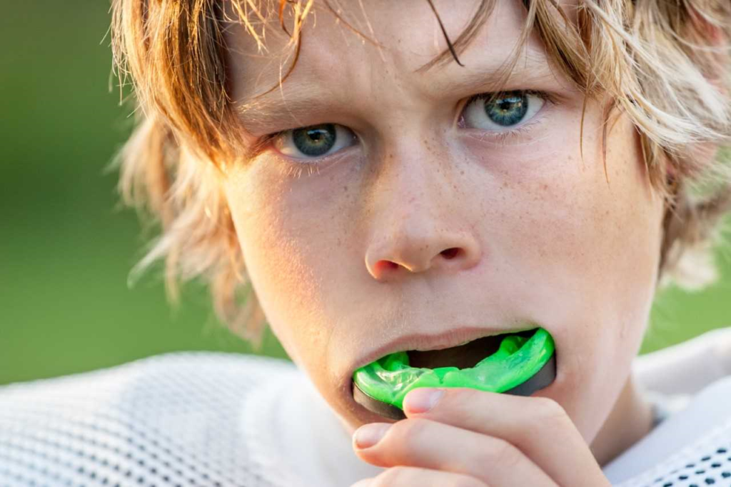 """Your Airdrie Springs Dentists say: """"Mouth guards are an important part of both good dental safety…and common sense."""""""